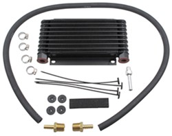Derale Series 9000 Plate-Fin Transmission Cooler Kit w/ NPT Inlets - Class II - Extra Efficient
