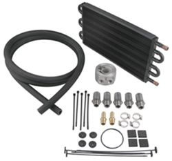 Derale Tube-Fin Engine Oil Cooler Kit w/ Sandwich Adapter (Multiple Threads) - Class III