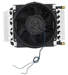 Derale 16-Pass Electra-Cool Remote Cooler Assembly w/ Fan, -8 AN Inlets - Class V