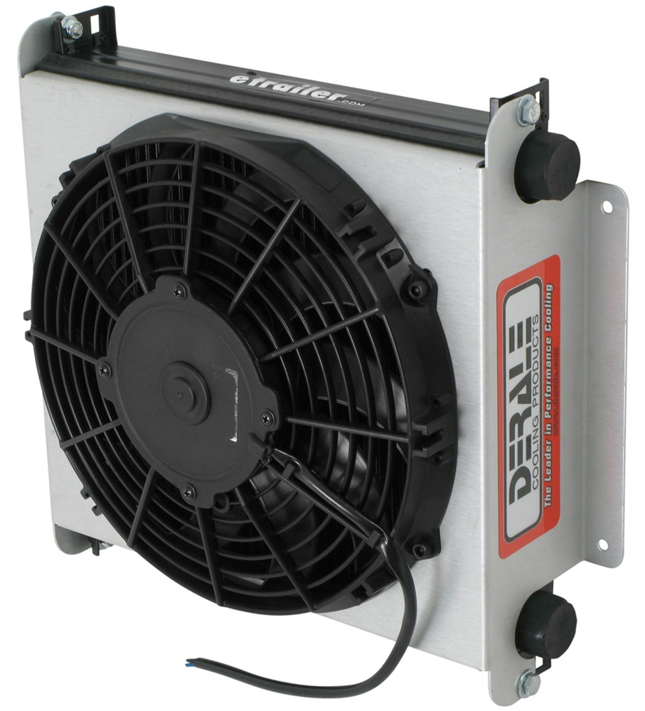 Derale Hyper Cool Extreme Remote Cooler Assembly W Fan