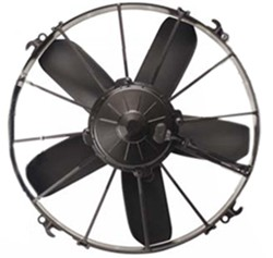 "Derale 13"" High-Output, Extreme Paddle-Blade Electric Fan - 1,640 CFM"