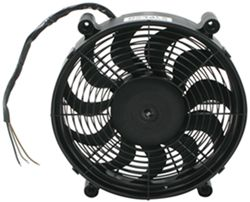 "Derale 14"" High-Output, Electric, Single Radiator Fan - 2,100 CFM"