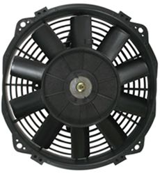 "Derale 8"" Dyno-Cool Straight-Blade Electric Fan with Thermostat Control - 350 CFM"