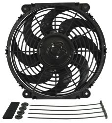 "Derale 12"" Tornado Electric Fan - 880 CFM"
