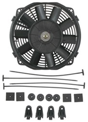 "Derale 8"" Dyno-Cool Straight-Blade Electric Fan - 350 CFM"