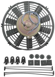 "Derale 9"" Dyno-Cool Straight-Blade Electric Fan - 475 CFM"