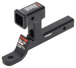 Curt Multipurpose Ball Mount with <strong>2&quot;</strong> Receiver for Bike Racks and Cargo Carriers - 7,500 lbs - D210