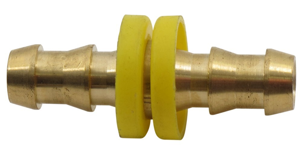 """Derale 3/8"""" Hose Barb to 3/8"""" Hose Barb Fitting Derale Accessories and"""