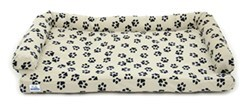"Canine Covers Ultimate Dog Bed - Medium - Champagne - 35"" x 25"""