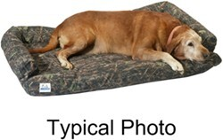 "Canine Covers Ultimate Dog Bed - Large - Charcoal Black - 48"" x 30"""