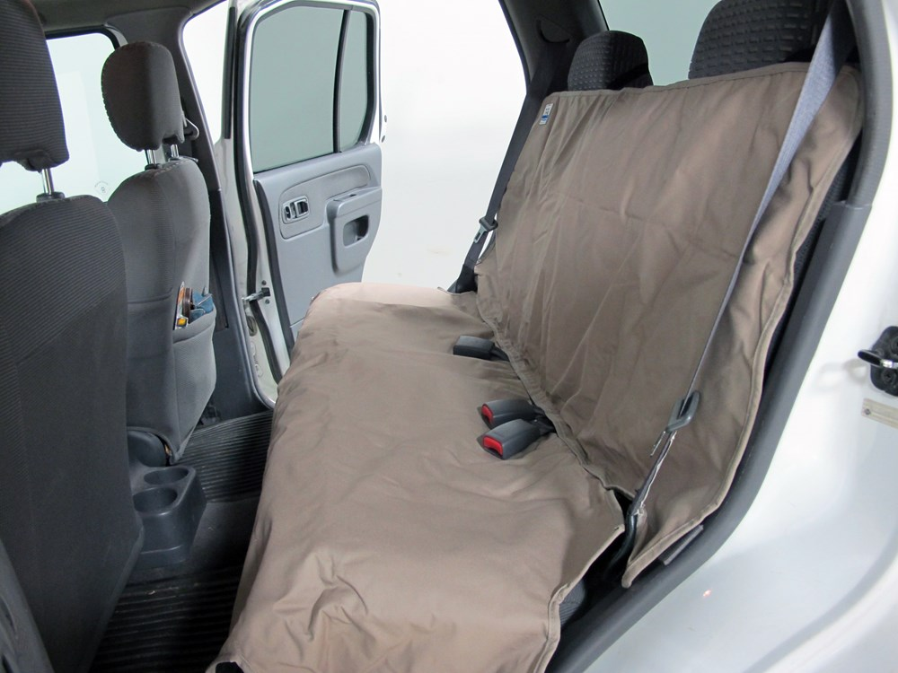 Canine Covers Econo Plus Seat Protector Bench Seat W Headrests Small High Back Wet Sand