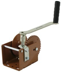 Dutton-Lainson Worm Gear Hand Winch with Hex Drive - 2,000 lbs