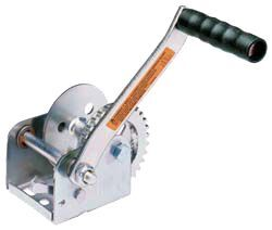 Dutton-Lainson Hand Winch with TUFFPLATE Finish, Single Speed - 600 lbs.