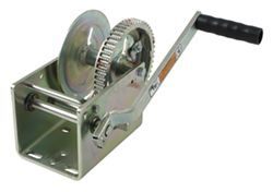 Dutton-Lainson Hand Winch with TUFFPLATE Finish, Two Speed with Direct Drive - 2,500 lbs.