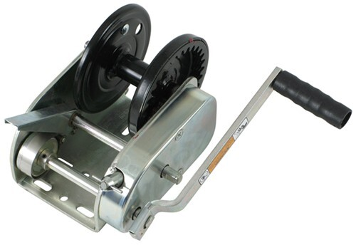 hand winch with brake. dutton-lainson hand winch, tuffplate finish, two speed with direct drive - winch brake