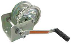 Dutton-Lainson Brake Winch with TUFFPLATE Finish, Self-Locking - 1,500 lbs.
