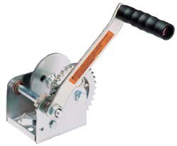 Dutton-Lainson Hand Winch with TUFFPLATE Finish, Single Speed - 900 lbs.