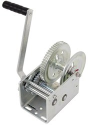 Dutton-Lainson Hand Winch with TUFFPLATE Finish, Two Speed with Left Hand Direct Drive - 2,500 lbs