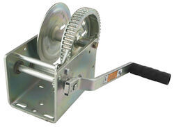 Dutton-Lainson Hand Winch - TUFFPLATE Finish - 2 Speed - Direct Drive - 3,200 lbs