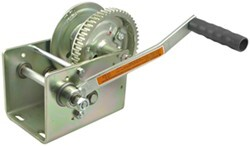 Dutton-Lainson Brake Winch with TUFFPLATE Finish, Self-Locking - 2,500 lbs.