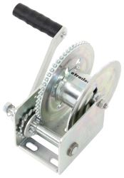 Dutton-Lainson Brake Winch with TUFFPLATE Finish - Self-Locking - Left Hand Direct Drive - 1,200 lbs