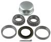 "Bearing Kit with Grease Cap for 1"" BT8 Spindle, L44643 Inner/Outer Bearings, 34823 Seal"