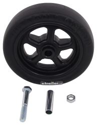 "Replacement Wheel for Pull Pin, Easy Swivel Trailer Jack by Dutton-Lainson - 8"" - 1,500 lbs"