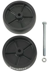Replacement Dual Poly Wheel for Dutton-Lainson Model 6800 Swivel Jack