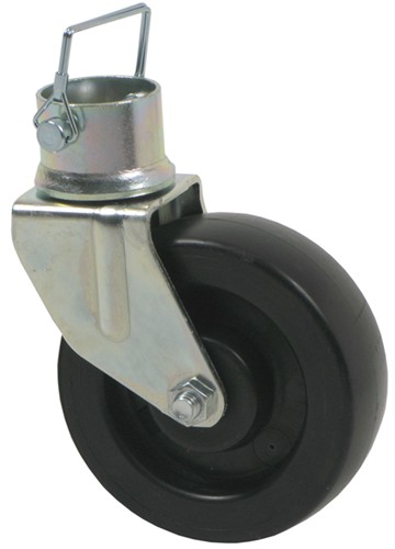 removable wheel with pin for a frame trailer jacks by dutton lainson