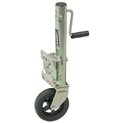 "Pull Pin, Easy Swivel Trailer Jack with 8"" Wheel - Sidewind - 1,500 lbs. by Dutton-Lainson"