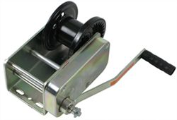 "Dutton-Lainson Heavy Duty Brake Winch, TUFFPLATE Finish, Self-Locking, 3-1/8"" Drum - 3,500 lbs."