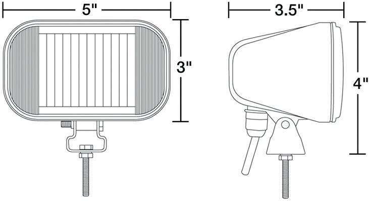 heavy-duty led docking lights  24 volts