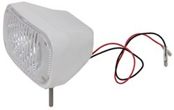 Heavy Duty LED Docking Light - 2 Diode - 12/24 Volts - 440 Lumens - White Aluminum Housing - Qty 1
