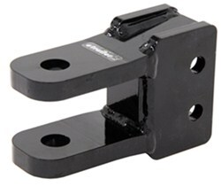 Demco 2-Tang Clevis - Adjustable Channel Mount - Black Paint - 20,000 lbs
