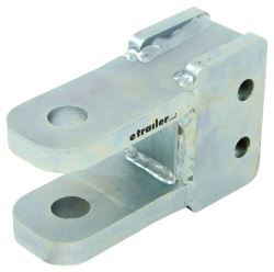 Demco 2-Tang Clevis - Adjustable Channel Mount - Zinc - 20,000 lbs