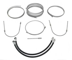 Demco Hydraulic Brake Line Kit for Tandem Axle Trailers - Drum Brakes