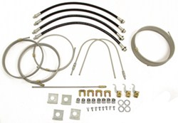 Demco Hydraulic Brake Line Kit for Tandem Torsion-Axle Trailers - Drum or Disc Brakes