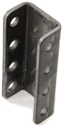 "Demco 4-Hole Adjustable Channel Bracket - Weld On - 8"" Tall - 10,000 lbs"