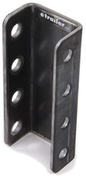 "Demco 4-Hole Adjustable Channel Bracket - Weld On - 8"" Tall - 7,500 lbs"