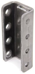 "Demco 4-Hole Adjustable Channel Bracket - Weld On - 8"" Tall - 20,000 lbs"