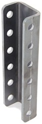 "Demco 6-Hole Adjustable Channel Bracket - Weld On - 12"" Tall - 10,000 lbs"
