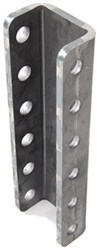 "Demco 6-Hole Adjustable Channel Bracket - Weld On - 12"" Tall - 20,000 lbs"