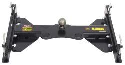 Demco Hijacker SL Series Gooseneck Trailer Hitch for 5th Wheel Rails - 25,000 lbs