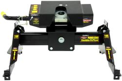 Demco Hijacker Premier Series Double Pivot 5th Wheel Trailer Hitch - Single Jaw - Above Bed - 16K