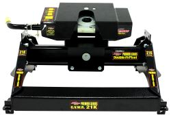 Demco Hijacker Premier Series Double Pivot 5th Wheel Trailer Hitch - Single Jaw - Above Bed - 21K