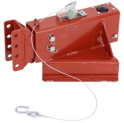 Demco Hydraulic Brake Actuator - Drum - Primed - A-Frame - Adjustable Channel Center - 12,500 lbs