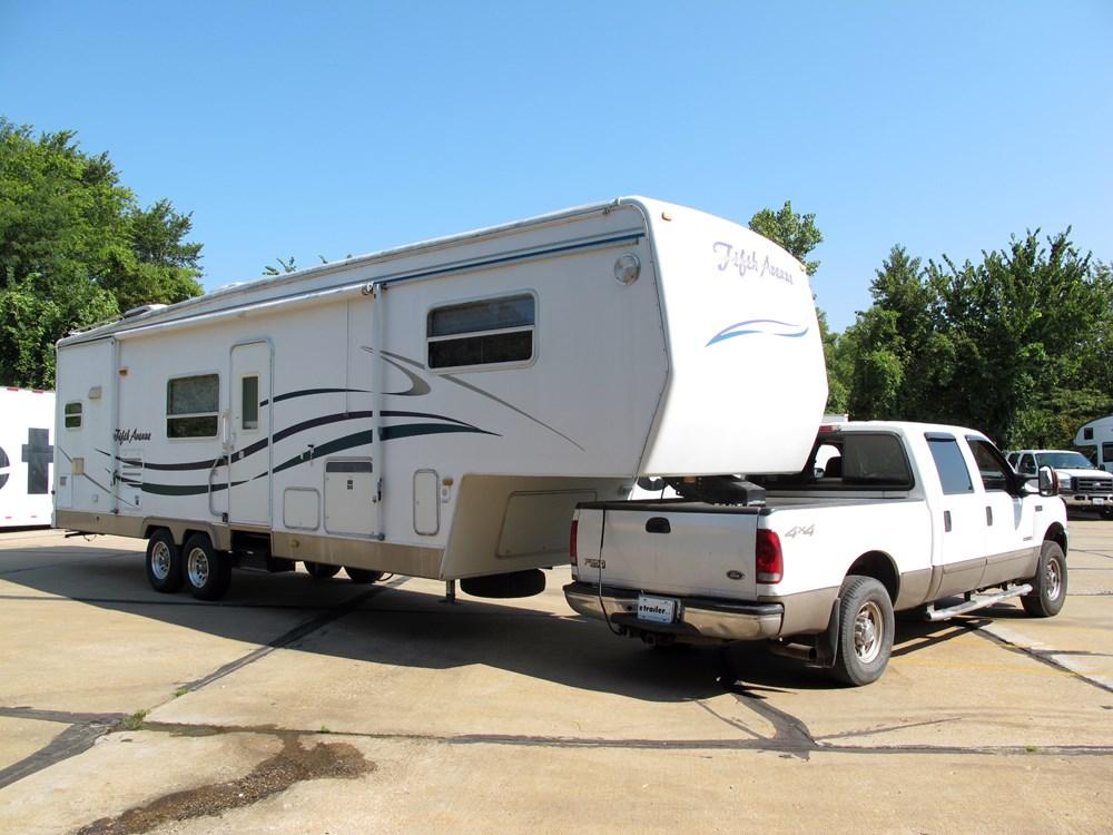 Fifth Wheel Trailer Hitch : Demco hijacker autoslide th wheel trailer hitch w slider