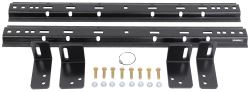 Demco Hijacker Premier Series Above-Bed Base Rails and Semi-Custom Install Kit for 5th Wheel Hitches