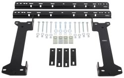 Demco Hijacker Premier Series Above-Bed Base Rails and Custom Installation Kit for 5th Wheel Hitches
