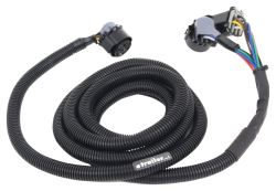 Demco 5th Wheel/Gooseneck 90-Degree Wiring Harness with 7-Pole Plug - 7' Long